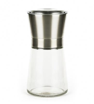 Fűszermalom rozsdamentes acél - üveg_1