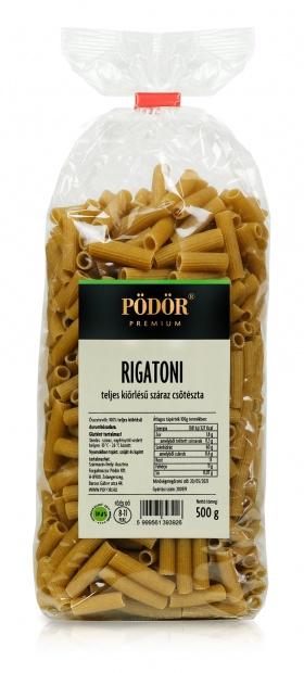 Teljes kiörlésű durum rigatoni_1